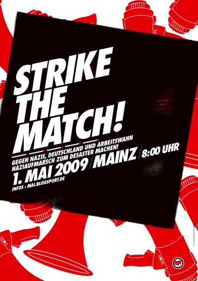 Plakat 1. Mai Mainz